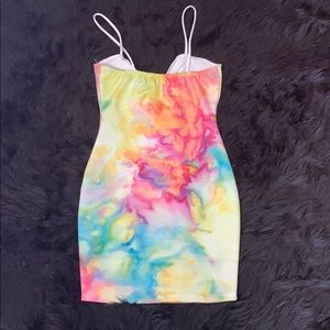 Forever 21 Dresses - F21 watercolor dress 💗💚